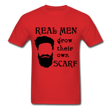 Load image into Gallery viewer, Scarf Beard Tee (Up to 6xl) - red