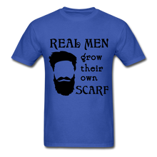 Load image into Gallery viewer, Scarf Beard Tee (Up to 6xl) - royal blue