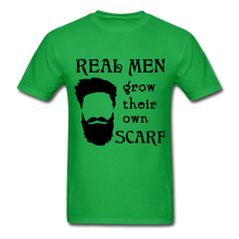 Load image into Gallery viewer, Scarf Beard Tee (Up to 6xl) - bright green