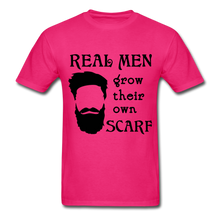 Load image into Gallery viewer, Scarf Beard Tee (Up to 6xl) - fuchsia