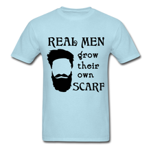 Load image into Gallery viewer, Scarf Beard Tee (Up to 6xl) - powder blue
