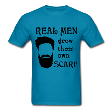 Load image into Gallery viewer, Scarf Beard Tee (Up to 6xl) - turquoise
