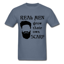 Load image into Gallery viewer, Scarf Beard Tee (Up to 6xl) - denim