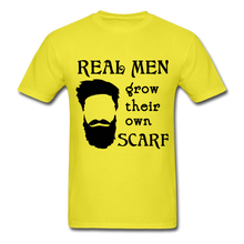 Load image into Gallery viewer, Scarf Beard Tee (Up to 6xl) - yellow