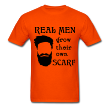 Load image into Gallery viewer, Scarf Beard Tee (Up to 6xl) - orange