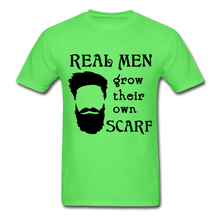 Load image into Gallery viewer, Scarf Beard Tee (Up to 6xl) - kiwi