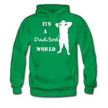 Load image into Gallery viewer, Dadbod World Hoodie (Up to 5xl) - kelly green