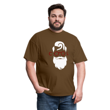 Load image into Gallery viewer, Cool Tee White Image (Up to 6xl) - brown