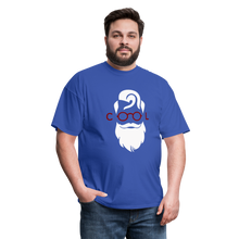 Load image into Gallery viewer, Cool Tee White Image (Up to 6xl) - royal blue