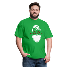 Load image into Gallery viewer, Cool Tee White Image (Up to 6xl) - bright green