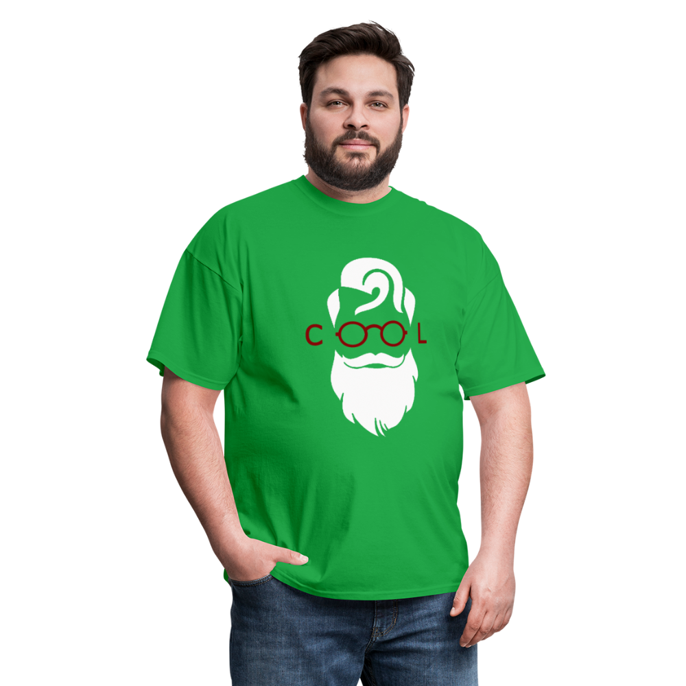 Cool Tee White Image (Up to 6xl) - bright green