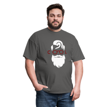 Load image into Gallery viewer, Cool Tee White Image (Up to 6xl) - charcoal