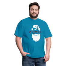 Load image into Gallery viewer, Cool Tee White Image (Up to 6xl) - turquoise