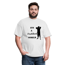 Load image into Gallery viewer, DadBod World Tee (Up to 6xl) - white