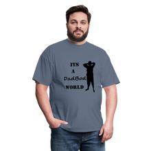 Load image into Gallery viewer, DadBod World Tee (Up to 6xl) - denim