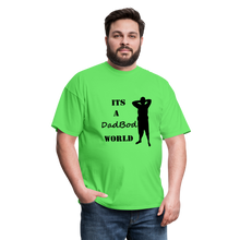Load image into Gallery viewer, DadBod World Tee (Up to 6xl) - kiwi