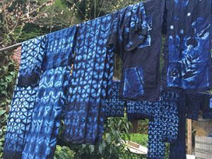 Japan Indigo Dye Workshop-The Experience continues