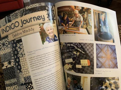Quiltmania Simply Moderne Magazine Article