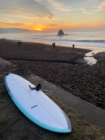Hybrid surfboards made in the UK