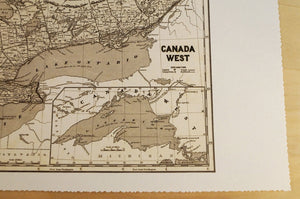 Antique Map of Southern Ontario
