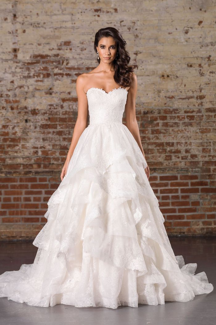 JUSTIN ALEXANDER SIGNATURE 9859 WEDDING DRESS