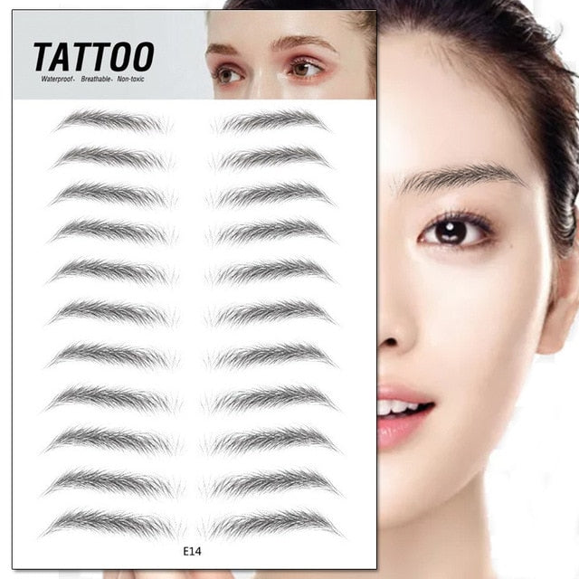 4D Eyebrow Tattoo