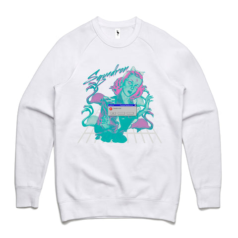 fatal error sweatshirt white