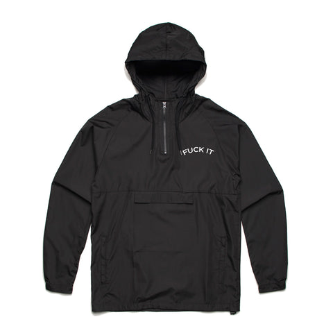 fuck it hooded windbreaker