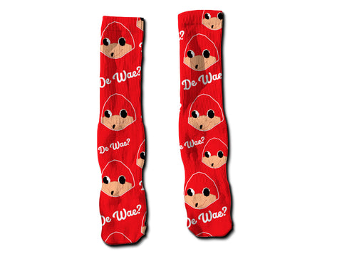 uganda knuckles meme do you know de wae socks culture pop