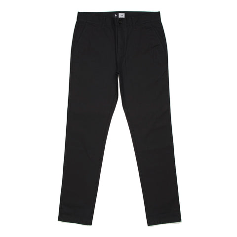 logo chino pants flamingo squadron black