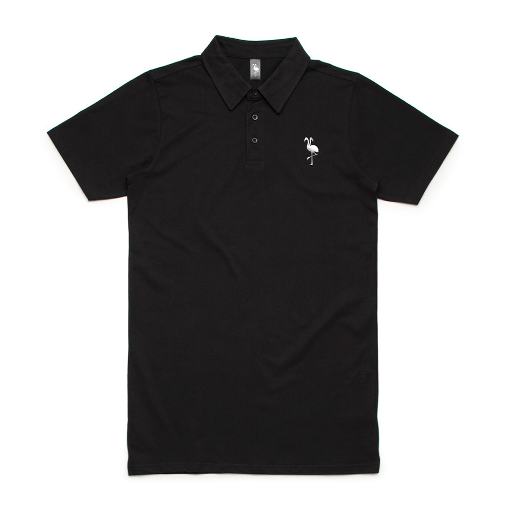 logo polo flamingo squadron black
