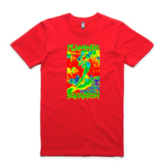 motivation v1 tee flamingo squadron red