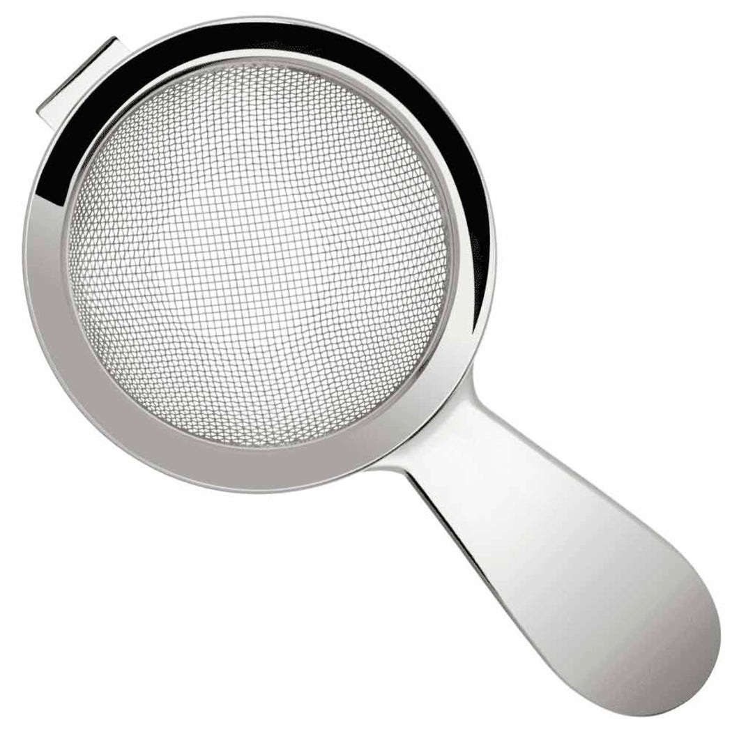 Biloxi fine strainer 60mm handle Silver