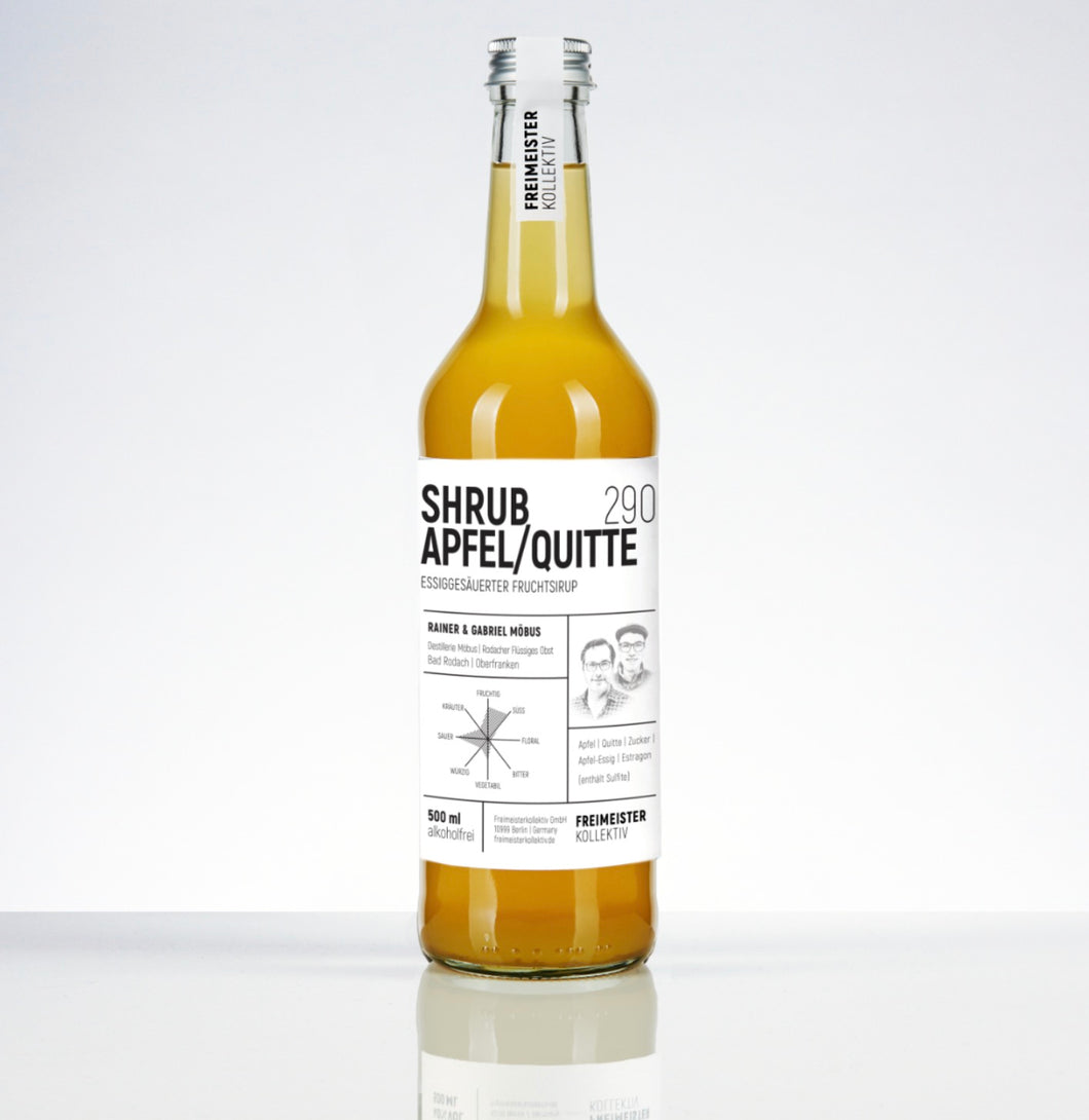Apple & Quince Shrub 290 Freimester Kollektiv