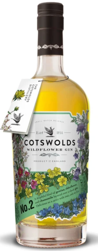 Cotswolds No.2 Wildflower Gin