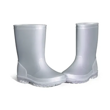 Load image into Gallery viewer, Kids Rain Boots Girls Shimmer Gray for Boys - KKOMFORME