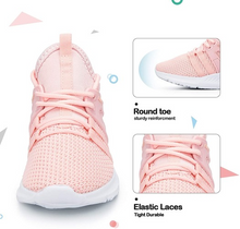 Load image into Gallery viewer, Kids Sneakers Running Tennis Athletic Shoes Pink -- KKomeforme