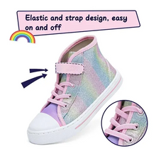 Load image into Gallery viewer, Kids Sneakers High-top Canvas Shoes Colorful - KKOMFORME