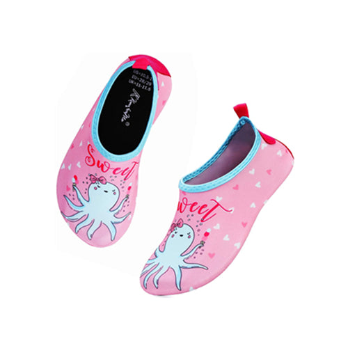 Boys and Girls Beach Water Shoes Sweet Octopus - Kkomforme