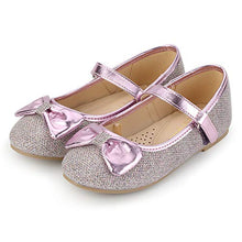 Load image into Gallery viewer, KKOMFORME Toddler Girls Flat Shoes Non-Slip Soft Ballet Mary Jane Walking Shoes