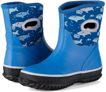Load image into Gallery viewer, KKOMFORME Neoprene Warm Rain Boots Winter Snow Boots for Toddler and Little Kids
