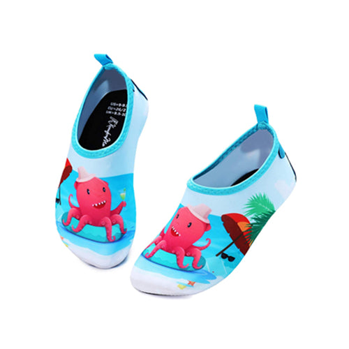 Boys and Girls Beach Water Shoes Holiday Octopus - Kkomforme