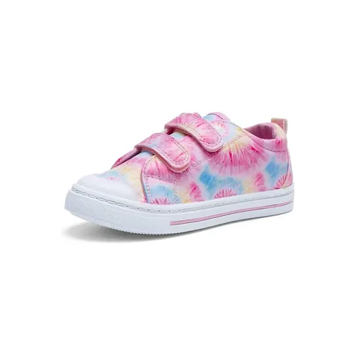 Toddler Girls Sneakers Kids Shoes Pink Flowers - Kkomforme