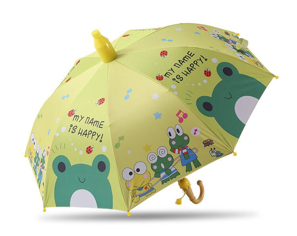 Umbrella Kids Lovely Rain Sun Umbrellas Cartoon Unicorn