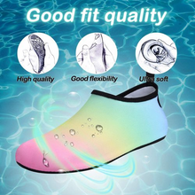 Load image into Gallery viewer, Kkomforme Kids Beach Water Shoes Non-Slip Quick Dry Swim Barefoot Aqua Pool Socks Shoes for Boys and Girls Toddler