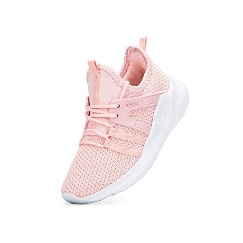 Kids Sneakers Running Tennis Athletic Shoes Pink -- KKomeforme