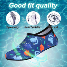 Load image into Gallery viewer, Boys and Girls Beach Water Shoes Roar Dinosaur - Kkomforme