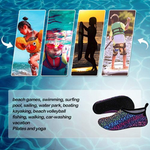 Load image into Gallery viewer, Kids Beach Water Shoes Non-Slip Quick Dry Swim Barefoot Aqua Pool Socks Shoes - Kkomforme