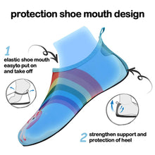 Load image into Gallery viewer, Boys and Girls Beach Water Shoes Magical Unicorn - Kkomforme