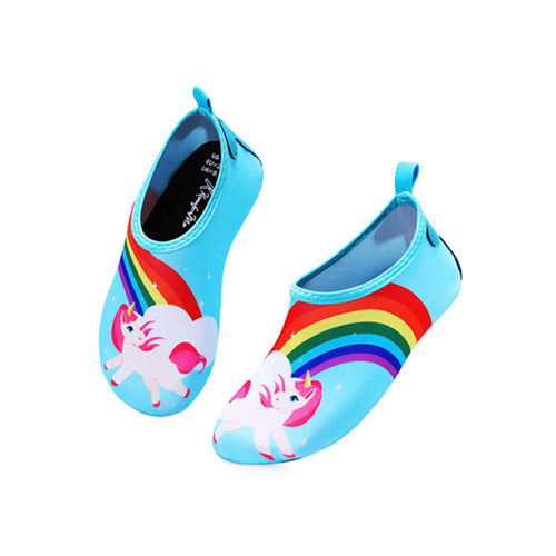 Boys and Girls Beach Water Shoes Magical Unicorn - Kkomforme